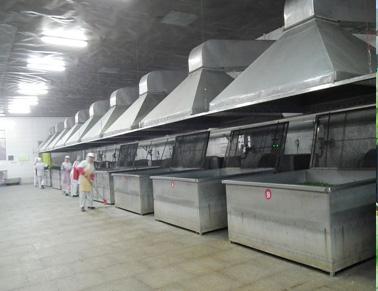生产线烘干区